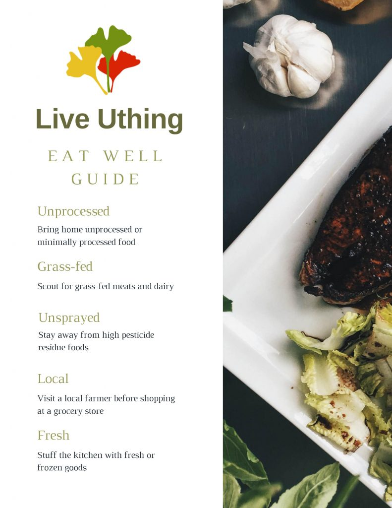 Eat Well Guide, Uthing p1