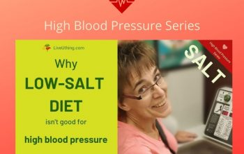 Low salt diet won't fix your hypertension; high blood pressure series