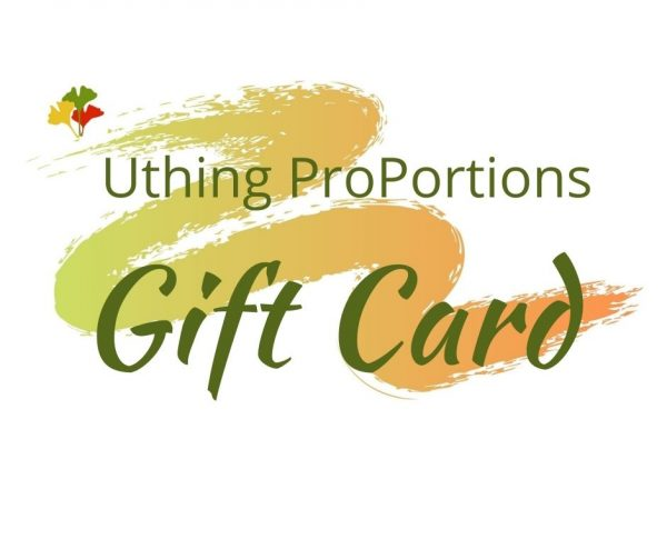 Uthing Proportions Gift Card