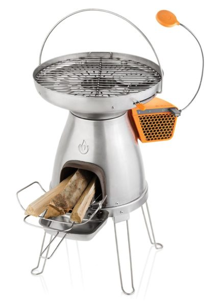 Portable wood burning stove