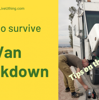 12 lessons we learnt from our van breakdown, and tips for you