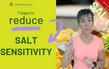 How to reduce salt sensitivity