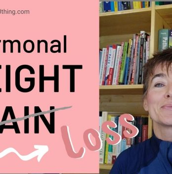 Weight loss in menopause (3 hromonal weight gain reasons identified)