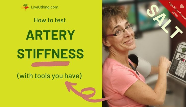 How to test for Artery stiffness | blood pressure series