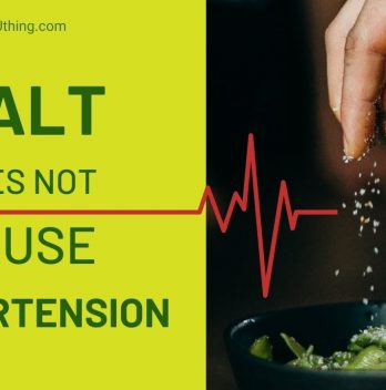 Salt does not cause hypertension