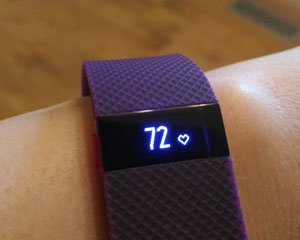 FitBit for stress high blood pressure