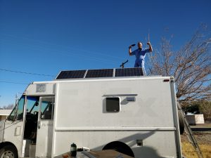 step van solar panels