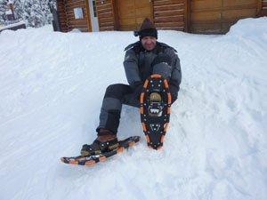 Snowshoeing Uthing